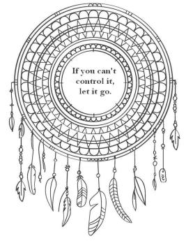 Quote Coloring Pages Let It Go