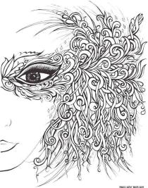 Spring Adult Coloring Pages Spring Fairy