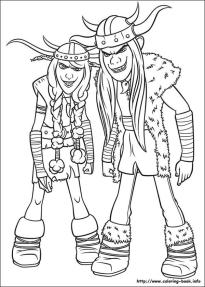 How to Train Your Dragon Coloring Pages Printable The Crazy Twin