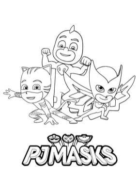 PJ Masks Coloring Pages Printable We Are PJ Masks