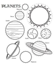 Solar System Coloring Pages Printable npt9
