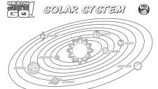 Solar System Coloring Worksheet for Kindergarten rjg3