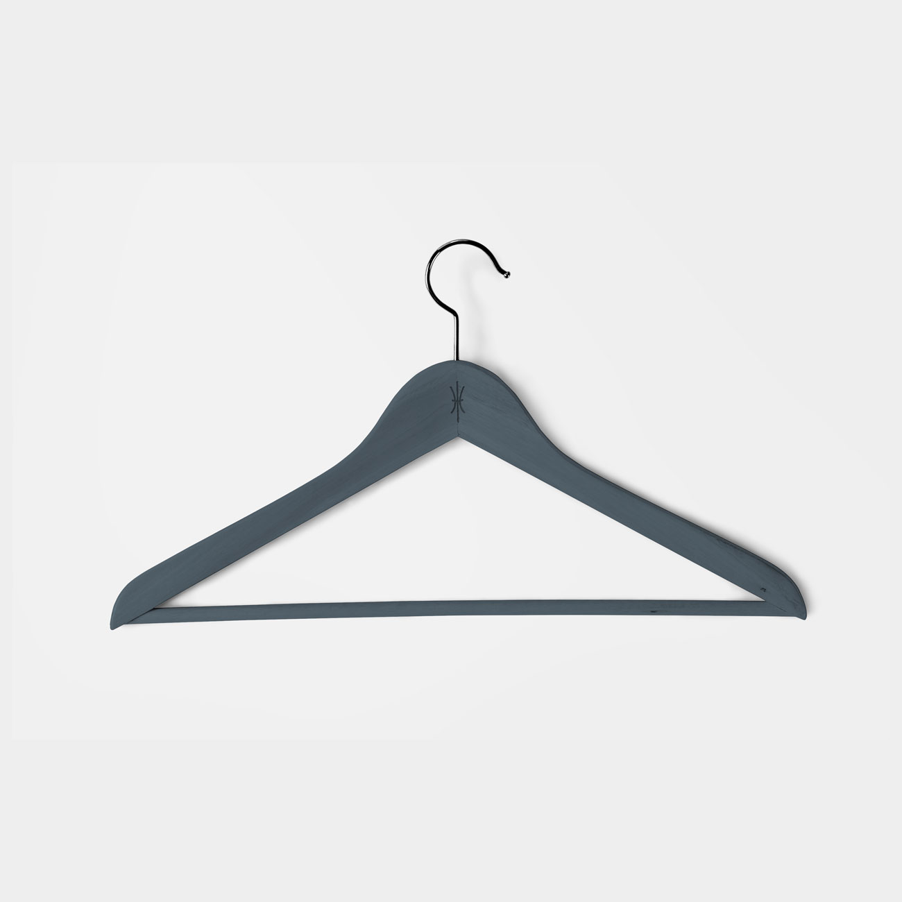 Coat hanger with icon