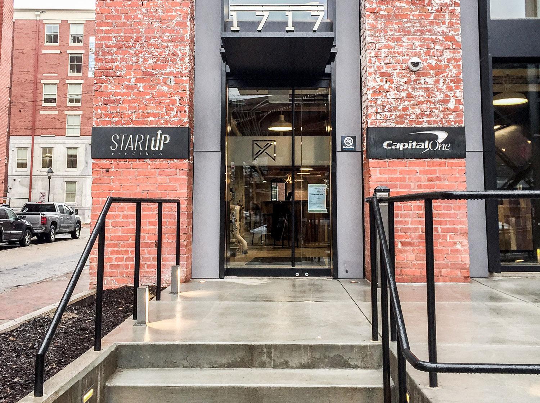 Startup Virginia front door