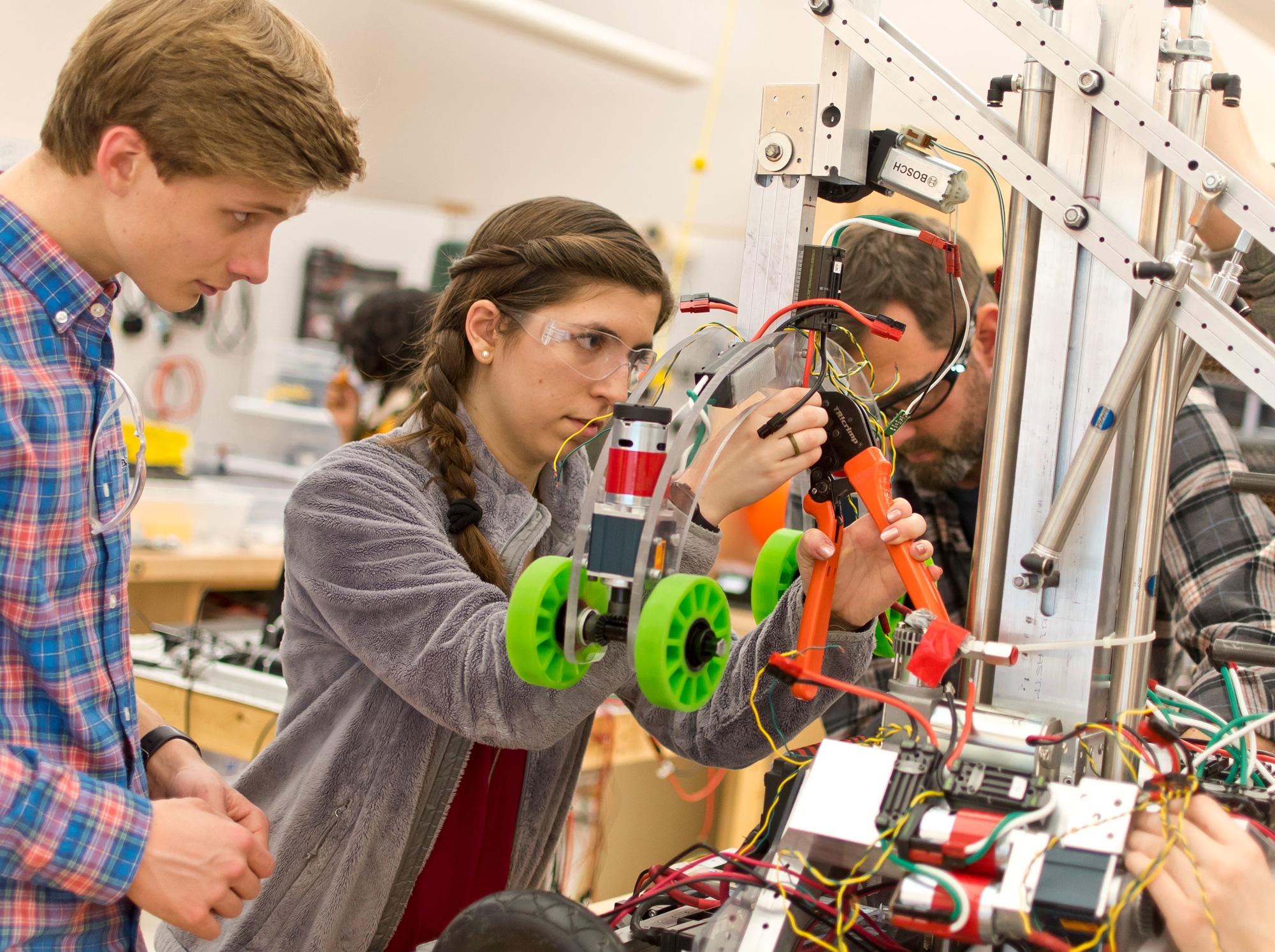 Photo of STEM students