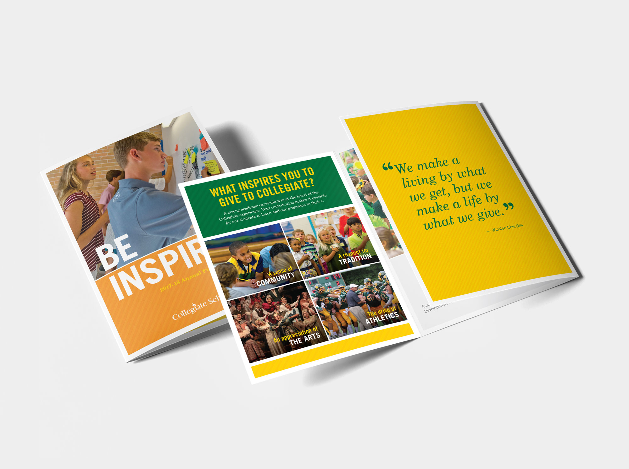 Be INspired direct mail piece