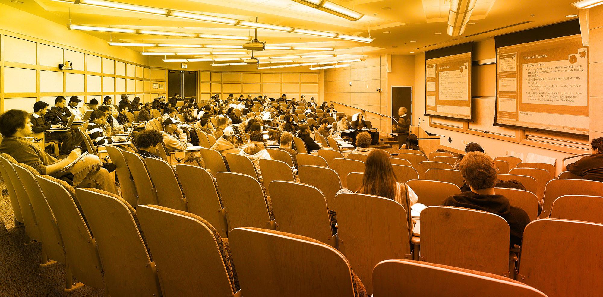 VCU classroom