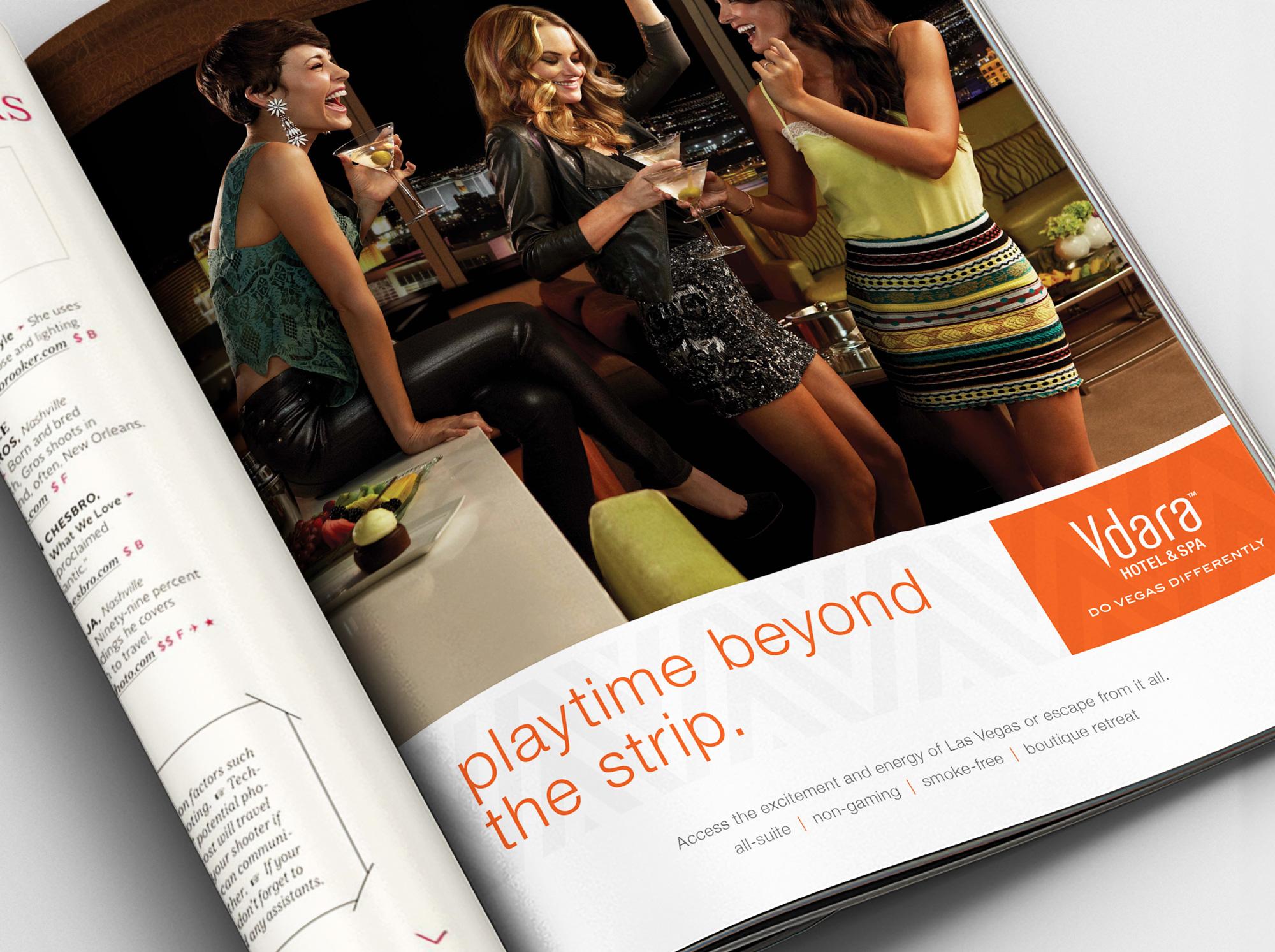 Vdara Playtime ad detail