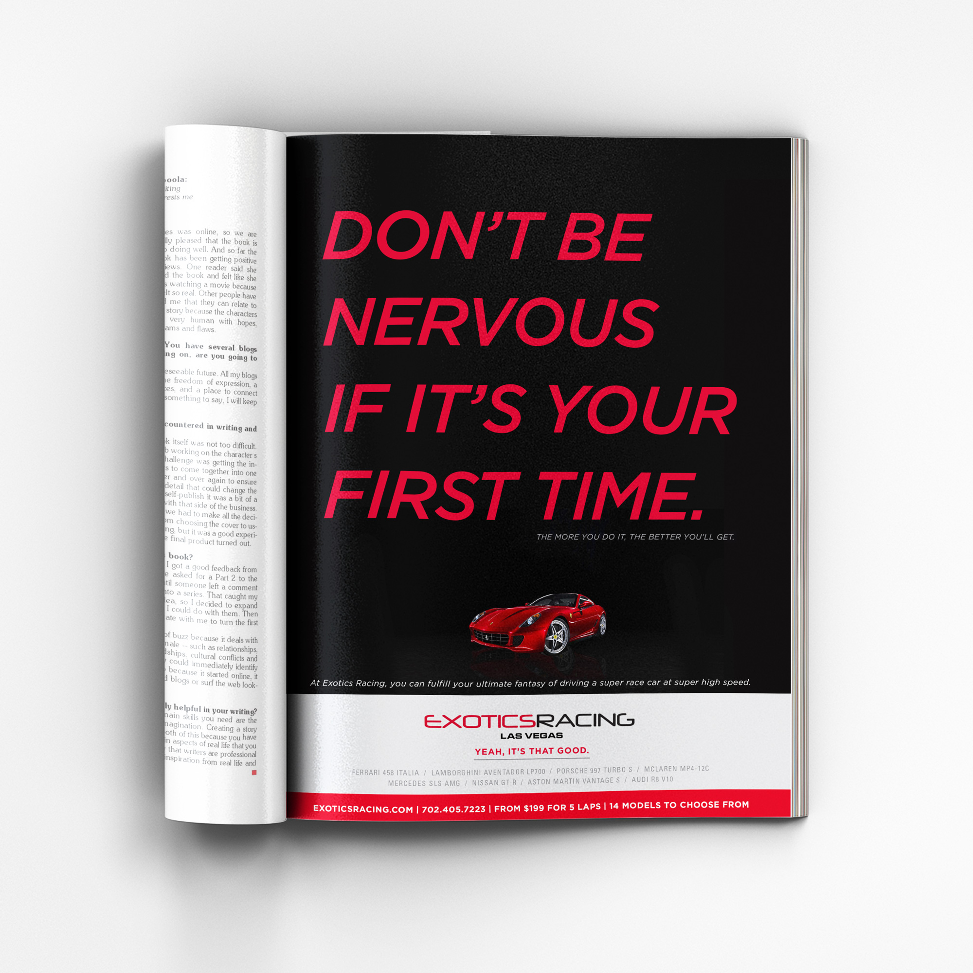 Magazine ad - nervous