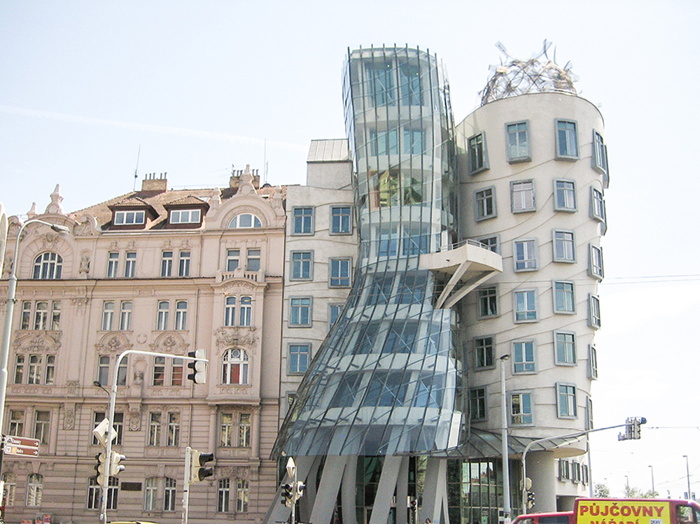 Fred and Ginger building in Prague