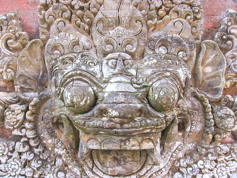 Hindu sculpture in Bali, Indonesia