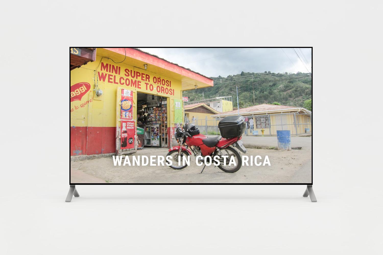 Short film of wanders in Costa Rica