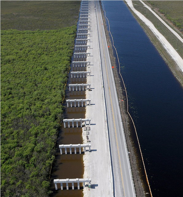 Phase I of Tamiami Trail Bridging Completed