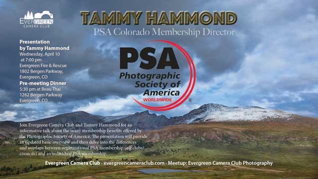 PSA (Photographic Society of America) with Tammy Hammond