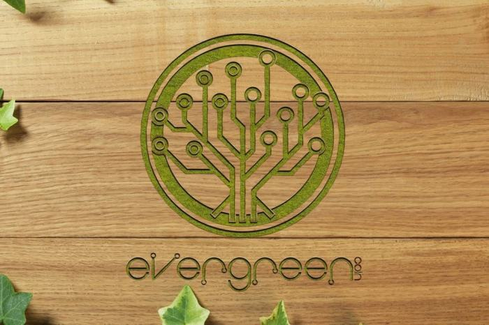 EverGreenCoin wood