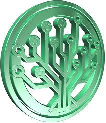 EverGreenCoin Logo 3D