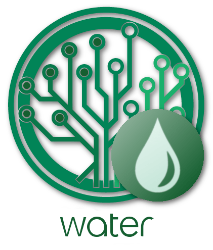 EverGreenCoin Water Logo