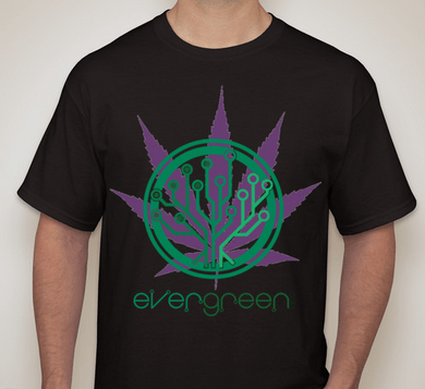 EverGreenCoin Cannabis T-shirt front