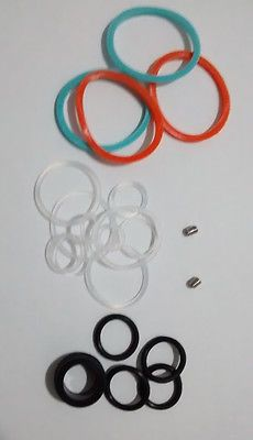 O-rings and screws set