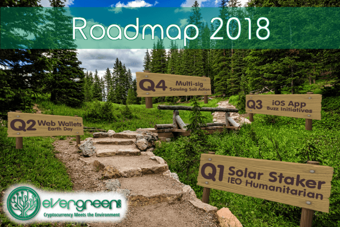 EverGreenCoin Roadmap 2018