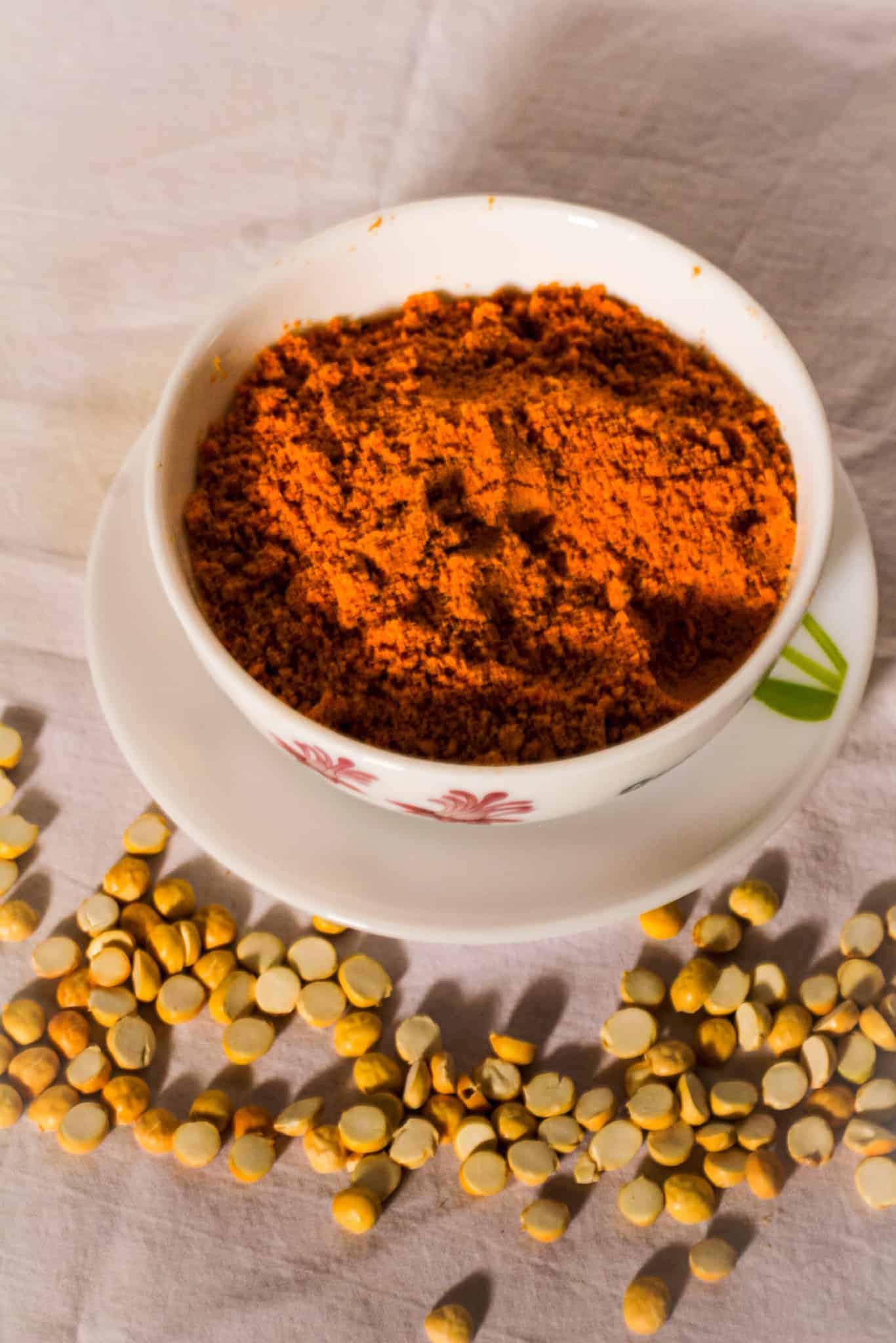 Roasted gram dry chutney
