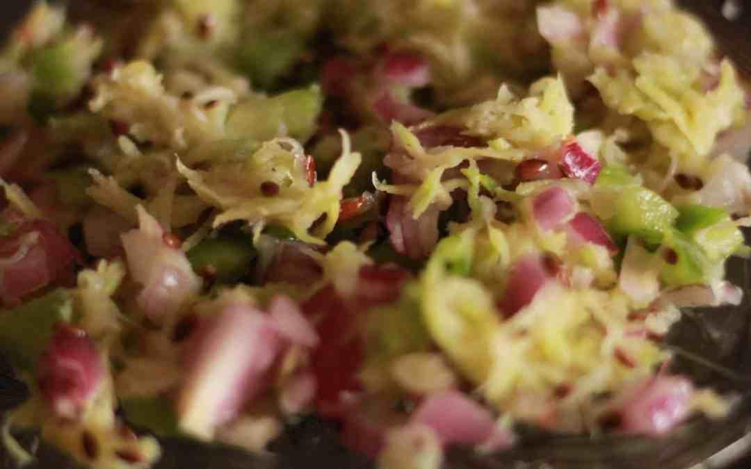 Raw Mango Salad