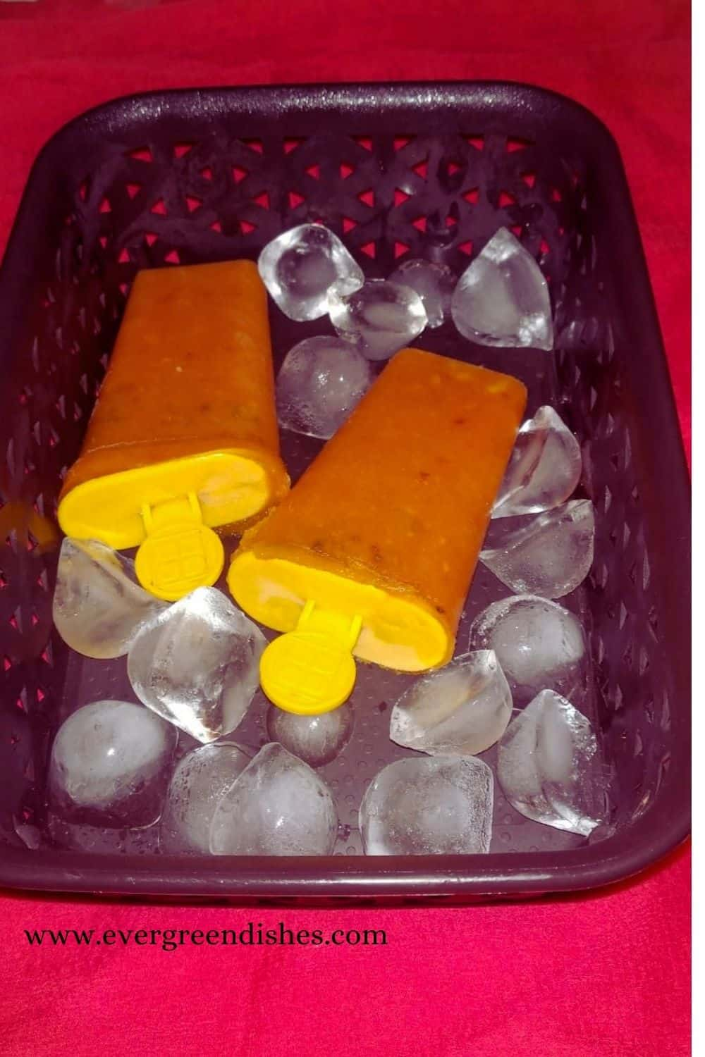 mixed fruit popsicle