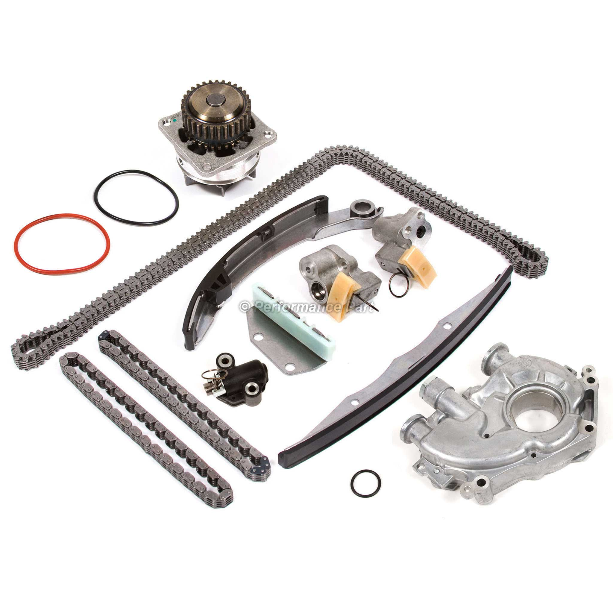 Timing Chain Kit Water Oil Pump For 05 10 Nissan Frontier