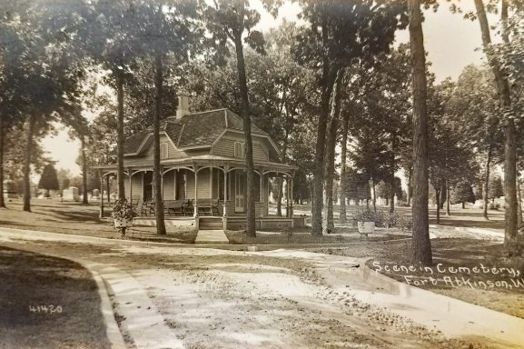 The Cemetery Cottage circa 1910