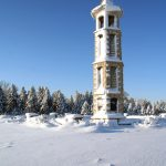 Bellman Carillon Tower in Winter