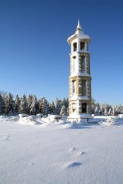Bellman Carillon Tower in Winter
