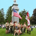 Boyscouts at Memorial Day Service 2008