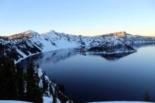 Crater Lake at dawn
