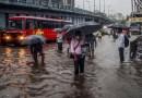 મુંબઈમાં ગઈકાલ રાતથી વરસી રહેલા  વરસાદને કારણે લોકલ ટ્રેનની સેવા ખોરવાઇ, નીચાણવાળા વિસ્તારોમાં પાણી ભરાયા……