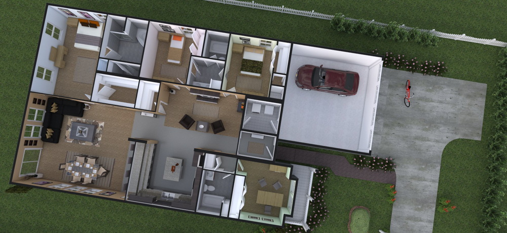 Planta Casa 2 (Prop.1)