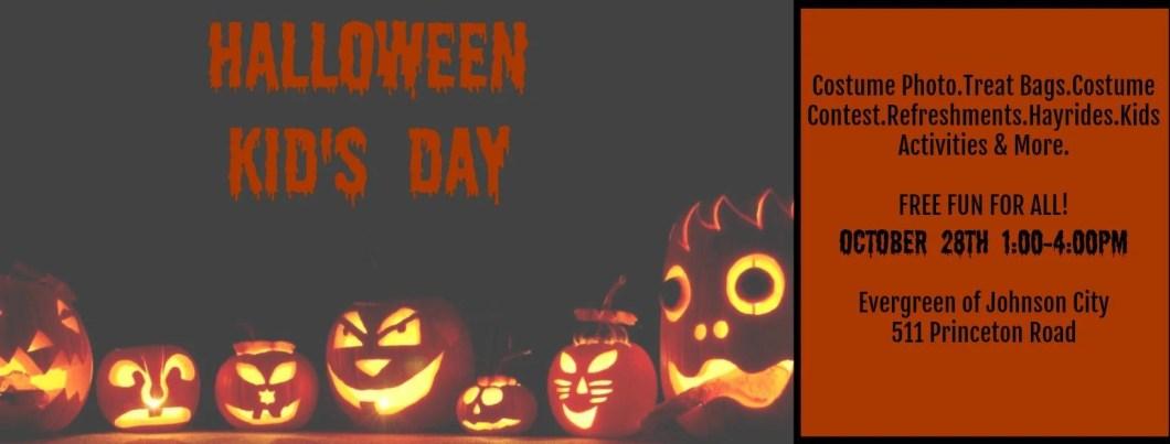 kid s halloween day evergreen of johnson city tn
