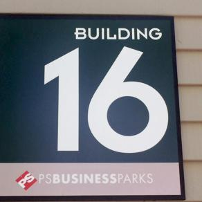 Your business park signage should have consistency in design. Evergreen can help guide you to a signage solution that will present well and integrate perfectly.
