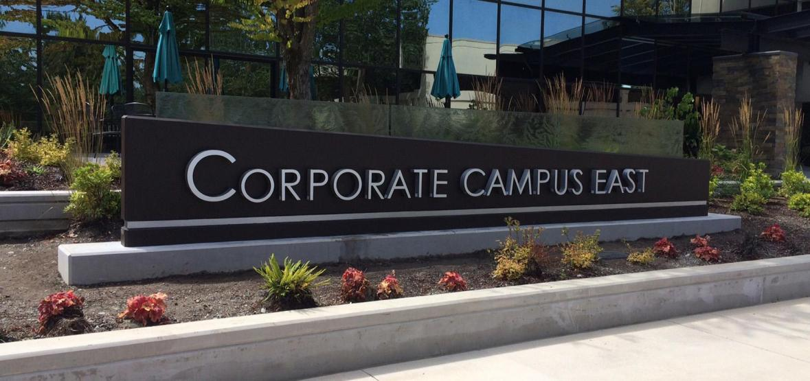 Corporate Campus East monument sign