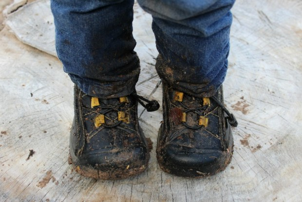 Puddle Jumping - Muddy Boots