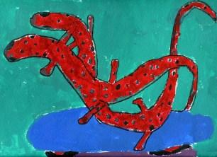 nelly martinez_amazing lizards on skateboard
