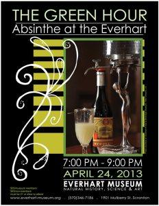 absinthe flyer