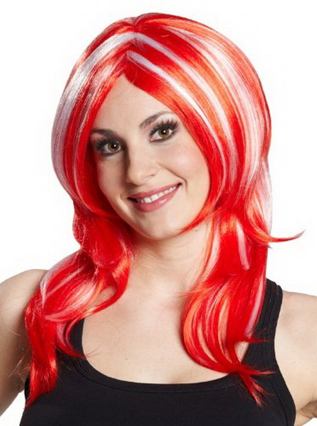 Rote Haare Mit Blonden Strhnen