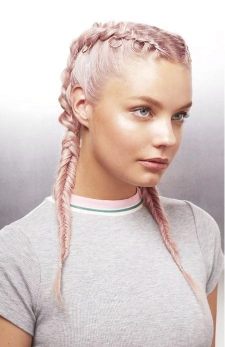 Zpfe Mittellanges Haar