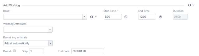 Timetracker detailed time tracking mode