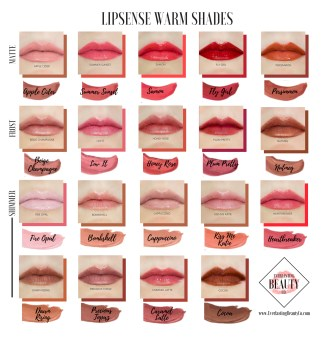 Warm Lipsense Shade