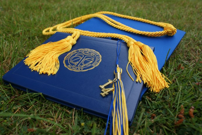 cap mortar board tassel honors chord scholarship degree
