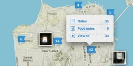 Atlas helps you rediscover all the places you've been with Evernote.