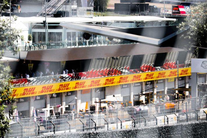 Austrian GP Paddock