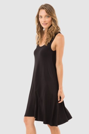 Little Black Lounge Dress 1