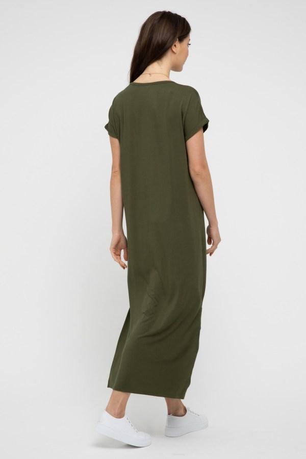 Elsie Dress Olive 2